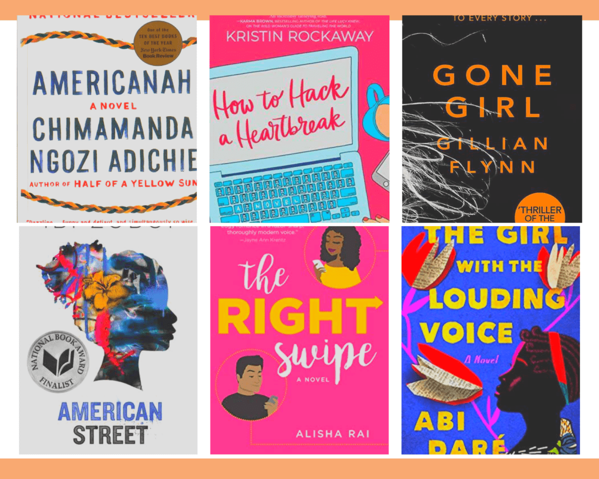 EIGHT BOOKS I READ IN APRIL.